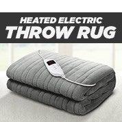 Heated Electric Throw Rug
