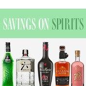 Savings on Spirits