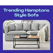 DukeLiving Hamptons 3 Seater Sofa Pre-Sale Special