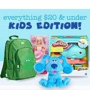 Everything $20 & Under - Kids Edition!