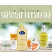 End of Season Skincare Clearance