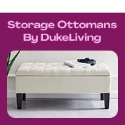 DukeLiving Storage Ottoman Clearance