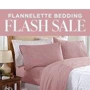 Flannelette Bedding Flash Sale