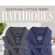 Egyptian Cotton Terry Bathrobes