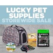 Lucky Pet Supplies Storewide Sale