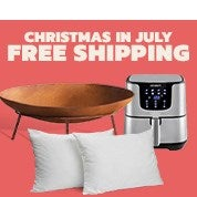 Christmas in July: Free Shipping