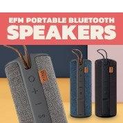 EFM Portable Wireless Bluetooth Speakers