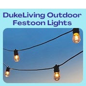 DukeLiving Outdoor Festoon Lights