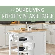 DukeLiving Bronte Kitchen Island Table