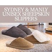 Sydney & Manly Unisex Sheepskin Slippers