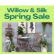 NEW! Willow & Silk Homewares: 15-80% off!