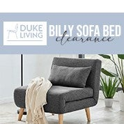 DukeLiving Billy Sofa Bed Clearance