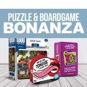 Puzzle & Boardgame Bonanza