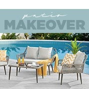 Patio Makeover Sale