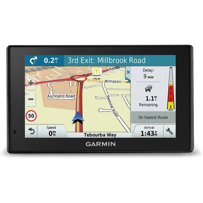 Garmin DriveSmart 51LMT-S 5 Inch Sat Nav with Lifetime Map Updates for UK and Ireland, Free Live Traffic and Built-In Wi-Fi